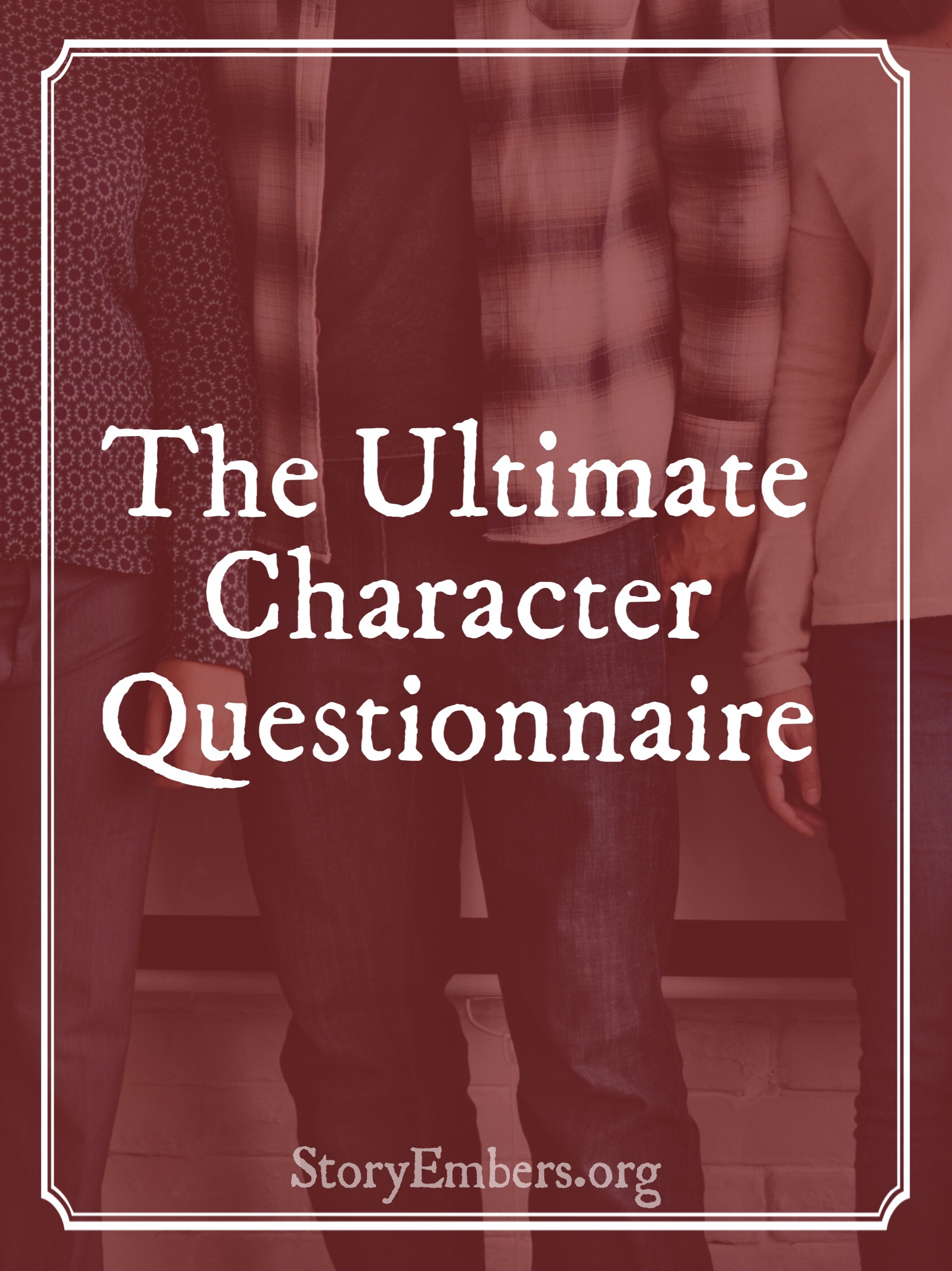 Stop Using Meaningless Character Questionnaires